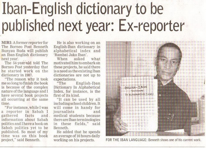 Ex-reporter. January 14, 2009 Edition.