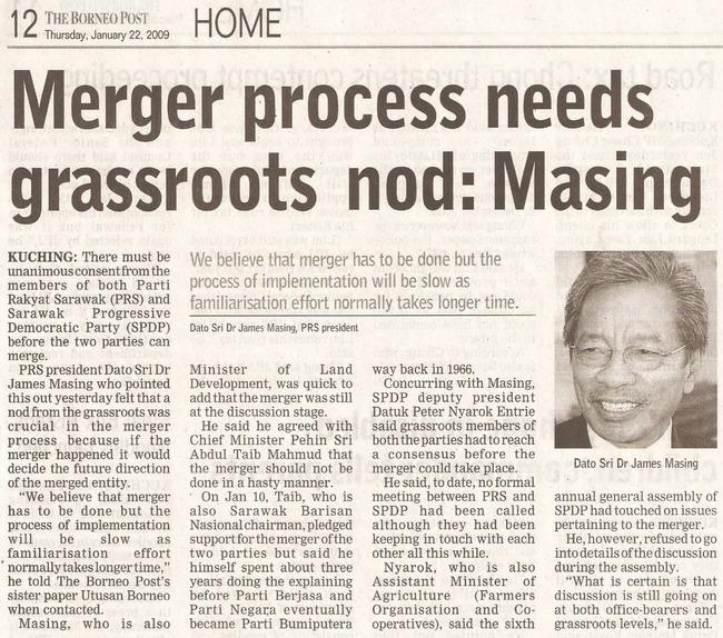 Masing. January 22, 2009 Edition.