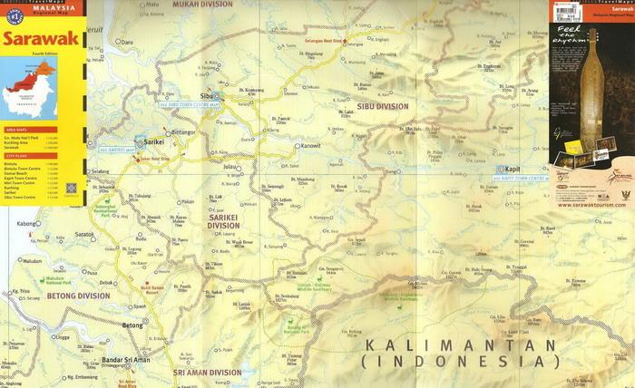 The PERIPLUS Sarawak map…