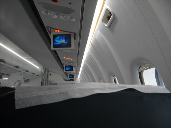 I managed to get this only photo inside the ATR 72-500 last Sunday... Click on the image for details...