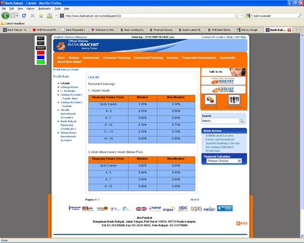 Calculator personal loan bank rakyat.